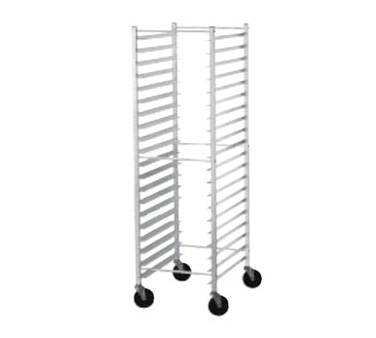 Advance Tabco PR12-5K Front Load Mobile Bun Pan Rack, 12-Pan Capacity