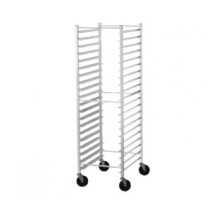 Advance Tabco PR18-3K Front Load Mobile Bun Pan Rack, 18-Pan Capacity