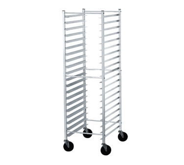Advance Tabco PR18-3KS Side Load Mobile Bun Pan Rack, 18-Pan Capacity