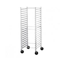 Advance Tabco PR20-3KS Side Load Mobile Bun Pan Rack, 20-Pan Capacity