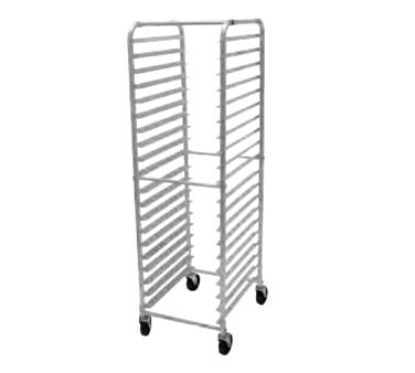 Advance Tabco PR20-3W Front Load Mobile Bun Pan Rack, 20-Pan Capacity