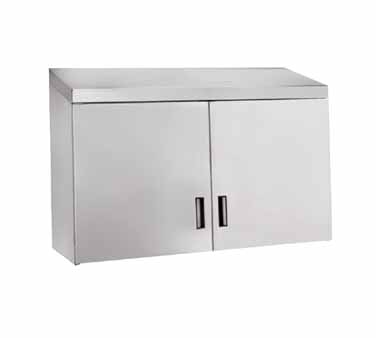 """Advance Tabco WCH-15-60 Wall Cabinet with Hinged Doors, 60"""""""