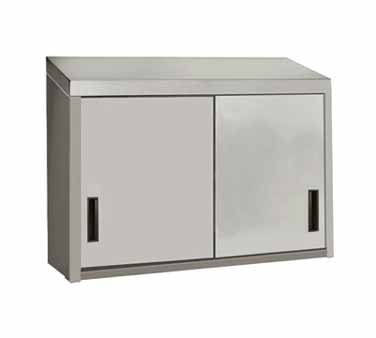 Advance Tabco WCS-15-48 Wall Cabinet with Sliding Doors, 48""