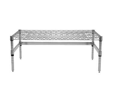 "Advance Tabco WDRC-1824 24"" x 18"" Chrome Plated Wire Shelf Dunnage Rack"