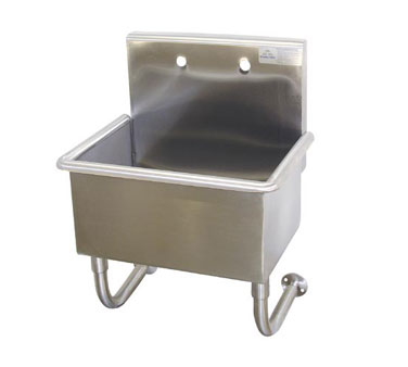 Food Service Sinks : Advance Tabco WSS-16-25 Wall Mounted Service Sink, 22