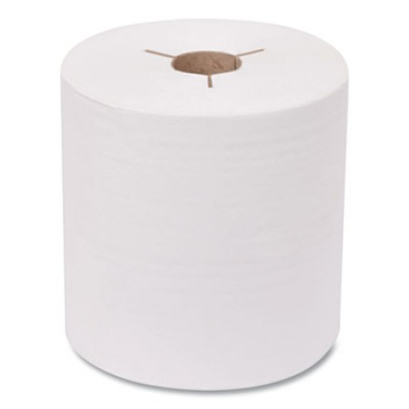 Advanced Hand Towel Roll, Notched, 1-Ply, 8 x 10, White, 1200/Roll, 6 Rolls/Carton