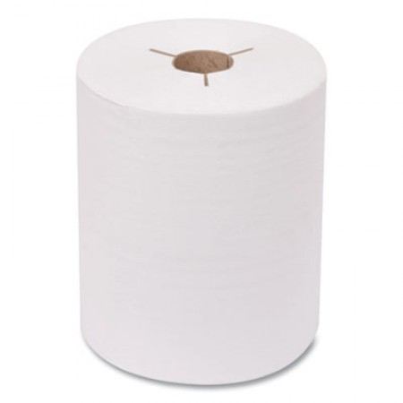 Advanced Hand Towel Roll, Notched, 1-Ply, 8 x 11, White, 491/Roll, 12 Rolls/Carton