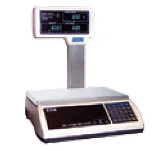 Alfa International A2JR-15VP 15 Lb X .006 Lb Capacity CAS Commercial Price Computing Scale