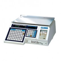 Alfa International ALP1-30 30 Lb X .01 Lb Capacity CAS Commercial Price Computing & Label Printing Scale