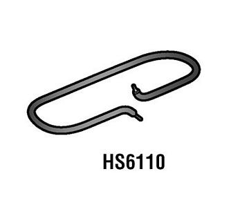 Alfa International HS6110 6'' X 15'' Heat Seal Heating Element