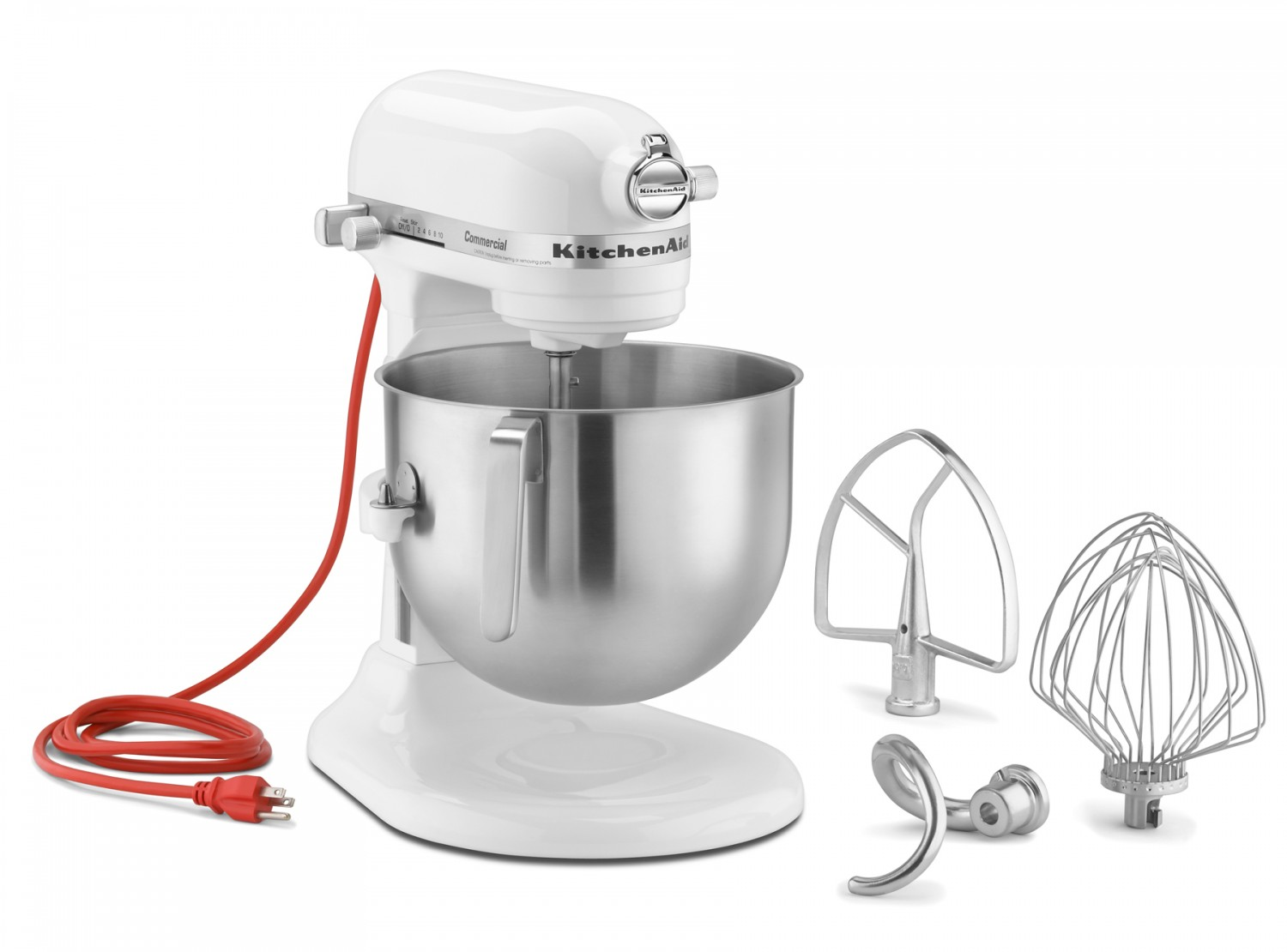 Alfa International KCM7 7 Qt. Bowl-Lift Capacity KitchenAid Commercial Stand Mixer