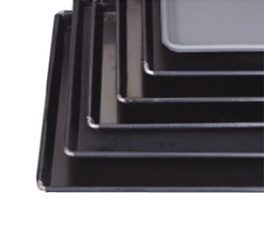 "Allied Metal BB1826 18"" x 26"" x 1"" Sicilian Pizza Pan with Non-Stick Black Buster Coating - 1/2 doz"