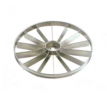 Allied Metal CD16 Stainless Steel Round Cake Divider 16 Cut