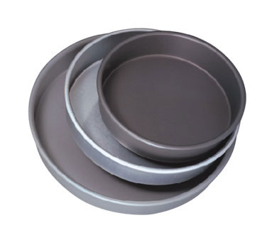 "Allied Metal CP6X1 Aluminum Pizza Pan 6"" x 1"""