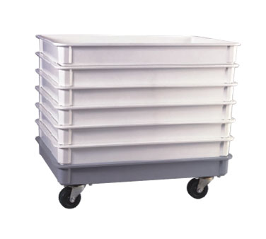 Allied Metal DOLYM Plexiglas Proofing Container Dolly