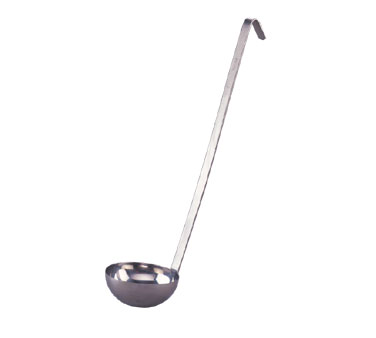 Allied Metal LDT16 2-Piece Stainless Steel 16 Oz. Ladle - 1 doz