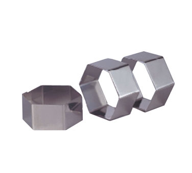 Allied Metal NNHEX238 Stainless Steel 2-3/8