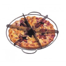 Allied Metal PC6 Stainless Steel Pie Cutter 6-Cut - 1 doz