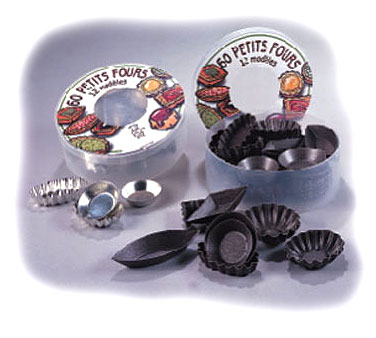 Allied Metal PFMM60SET Petites Four Mold - 5 doz