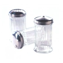 Allied Metal SGSC12 12 Oz. Cheese Shaker with Stainless Steel Top - 1 doz