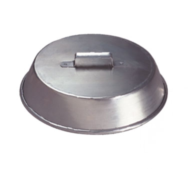 """Allied Metal WC14 Wok Cover with Strap Handle 14"""" - 5 pcs"""
