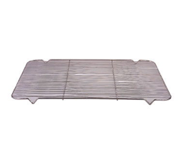"Allied Metal WRG1725 Nickel Plated Wire Ribbed Grate 17"" x 25"""