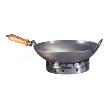 "Allied Metal WS12 Round Bottom Wok 12"" - 5 pcs"