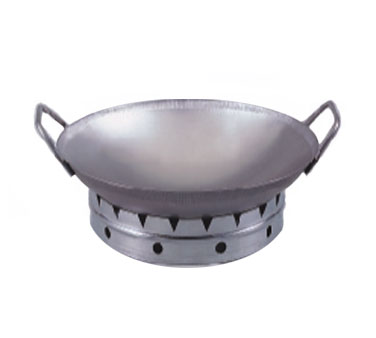 Allied Metal WS14BX Round Bottom Wok Set 14""
