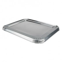 Aluminum Steam Table Lids for Rolled Edge Half Size Pan, 100 /Carton
