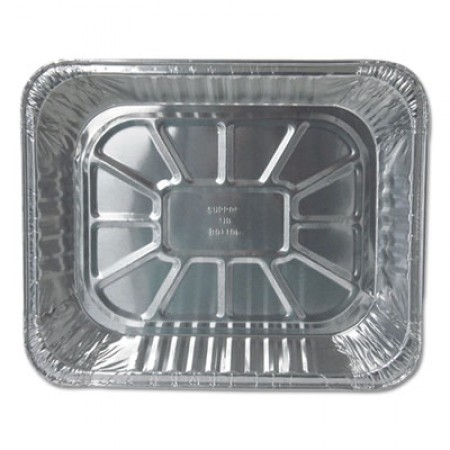 Aluminum Steam Table Pans, Half Size, Deep, 100/Carton