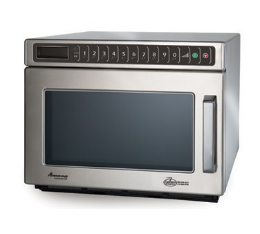 Amana HDC12A2 Stackable 1200 Watt Stainless Commercial C-Max Microwave