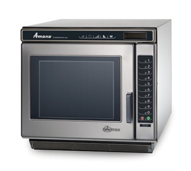 Amana RC17S2 1700 Watt Programmable Stainless Commercial Microwave