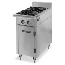 "American Range  HD11-2SU-M Medallion Series 11"" Heavy Duty Range with 2 Step Up Burners and Modular Top"