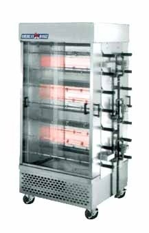 American Range ACB-14 Rotisserie Gas Oven with 14 Spits