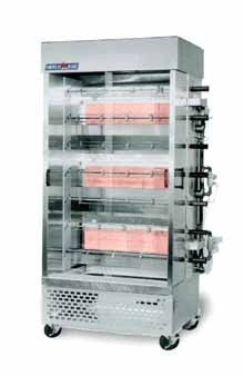 American Range ACB-7 Rotisserie Gas Oven with 7 Spits