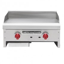 "American Range ACCG-12 Gas Griddle 12"" Wide Counter Unit"
