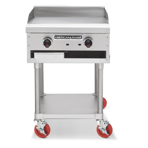"""American Range ACCG-24 Gas Griddle 24"""" Wide Counter Unit"""