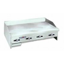 "American Range ACCG-48 Gas Griddle 48"" Wide Counter Unit"