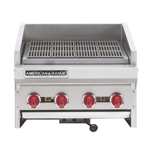 "American Range ADJ-24 24"" Adjustable Top Gas Radiant Broiler"