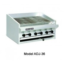 "American Range ADJ-72 72"" Adjustable Top Gas Radiant Broiler"