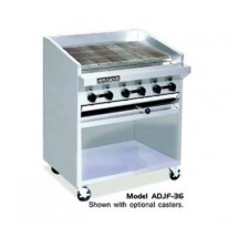 "American Range ADJF-48 48"" W  Adjustable Top Radiant Broilers Floor Model with Open Cabinet Base"