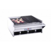 "American Range AECB-14 14"" W Counter Model Gas Charbroiler"