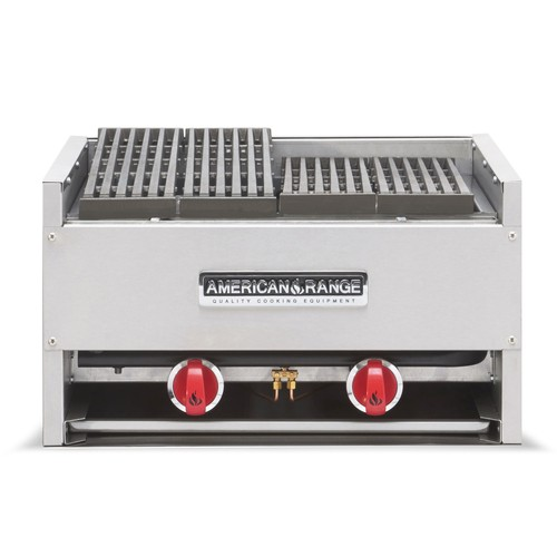"American Range AECB-24 24"" W Counter Model Gas Charbroiler"