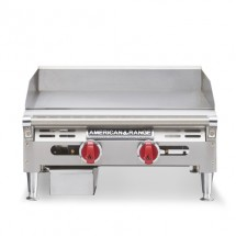 "American Range AEMG-60 60"" W Gas Griddle Counter Unit with 4 Legs"