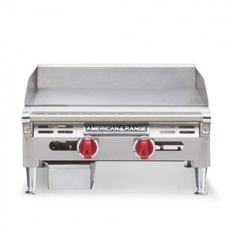 "American Range AETG-12 Thermostatically Controlled 12"" W Gas Griddle Count Unit"