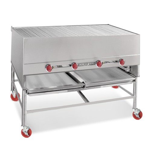 "American Range AHS-4827 48"" Wide 27"" Deep Gas Horizontal Broiler"