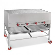 "American Range AHS-6027  60"" Wide 27"" Deep Gas  Horizontal Broiler"