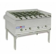 "American Range AHSR-48 48"" Wide Gas Horizontal Broiler with Built-In Rotisseries"