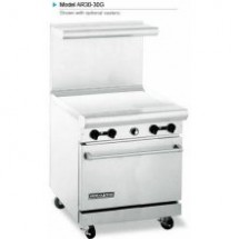 "American Range AR30-30G 30"" Heavy Duty Restaurant Range with 30"" Griddle and 1 Oven"