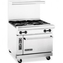 "American Range AR36-4B 36"" Heavy Duty Restaurant Range with 4 Burners and 1 Oven"